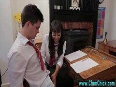 Watch video link category bdsm (322 sec). Cfnm euro chicks humiliate victim.
