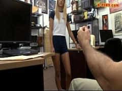 Download hub video category blonde (373 sec). Small tits blonde railed at the pawnshop.
