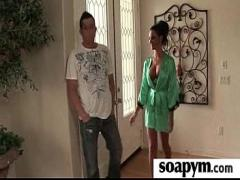 Full youtube video category massage (303 sec). Sisters Friend Gives Him a Soapy Massage 13.