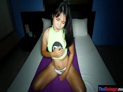 Super sexual video category teen (360 sec). Cute amateur asian GF begs for a quick creampie.