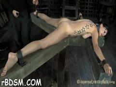 18+ video category blowjob (300 sec). Superlatively good torment porn.