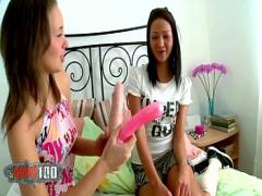 Cool erotic category anal (1011 sec). Young russian lesbian sluts anal toy playing.