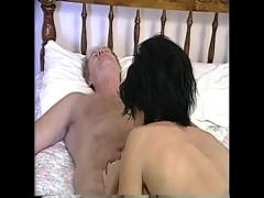 Super video category anal (1011 sec). Lusty MILF with enormous tits slurps and deepthroats a massive cock then fucks.