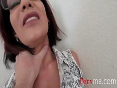 Genial video category big_tits (501 sec). BUSTY MOM and her FAT PUSSY.